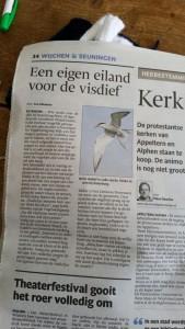 Artikel Visdiefvlot Liendense Waard De Gelderlander
